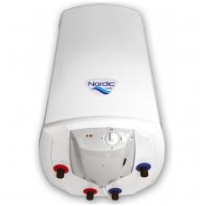 "Kombinuotas greitaeigis vand. šildytuvas Elektromet NORDIC COMBI 2000 100L (""sausas"" 2x1,2kW), su el. valdymu"