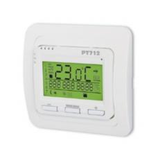 Skaitmeninis patalpų termostatas grindiniam šildymui PT712