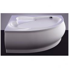 Akmens masės vonia VISPOOL MAREA 170x110 dešinės pusės balta