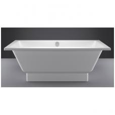Akmens masės vonia VISPOOL NORDICA 170x75 balta su paslėptomis kojomis