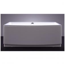 Akmens masės vonia VISPOOL RELAX 170x80 stačiakampė balta