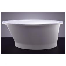 Akmens masės vonia VISPOOL SOLARE 177x107 ovali balta