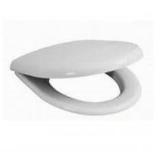 Antibakterinė sėdynė su dangčiu OLYMP/ LYRA BALTIC, Slowclose, plastikiniai lankstai