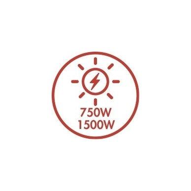 ARGO MINIMAL WEEK konvekcinis elektrinis radiatorius 6