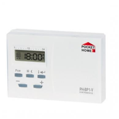 Belaidis patalpų termostatas- siųstuvas PH-BP1-V