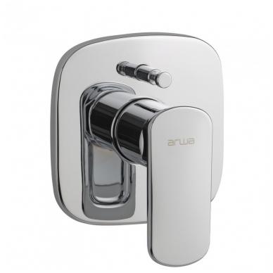 CITYPRIME Potinkinis vonios/dušo maišytuvas, su perjungėju, chromas