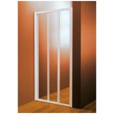 Dušo durys ASDP3-80 GRAPE baltas