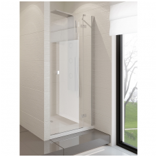 Dušo durys NEW TRENDY MODENA 120 dešininės, skaidrus stiklas