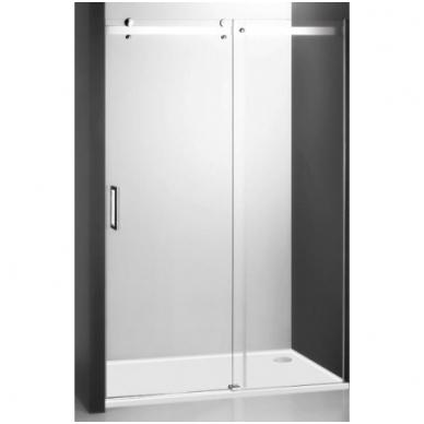 Dušo durys AMD2 1200/2000 Brillant/Transparent