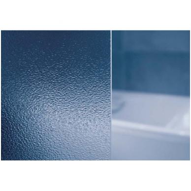 Dušo durys ASDP3-80 GRAPE baltas 2