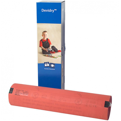 Elektrinio šildymo kilimėlis DEVI Devidry-55