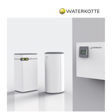 Geoterminis šilumos siurblys EcoTouch Compact DS 5014.5 Ai (10,7kW) 2