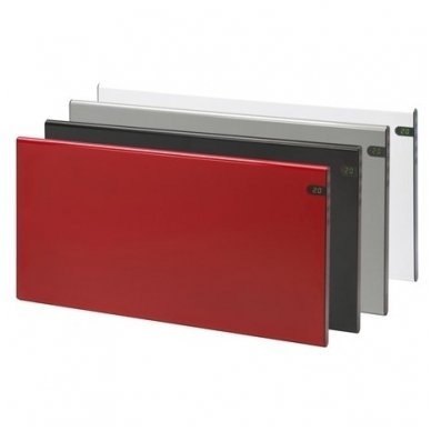 GLAMOX Heating H30 H KDT konvekcinis elektrinis radiatorius juodas 2