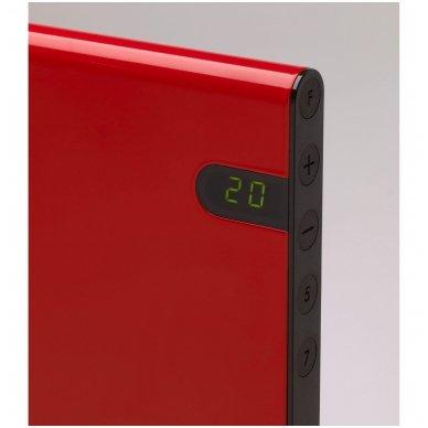 GLAMOX Heating H30 H KDT konvekcinis elektrinis radiatorius raudonas 2