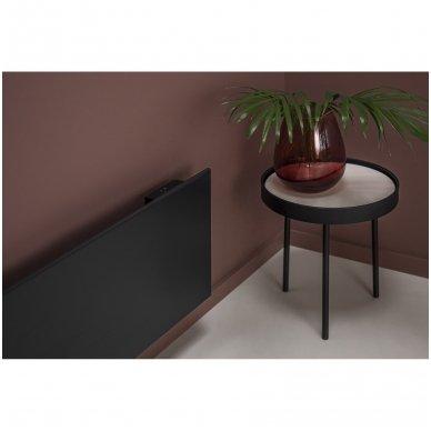 GLAMOX Heating H40 H konvekcinis elektrinis radiatorius (juodas) 3