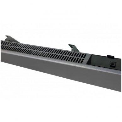 GLAMOX Heating H40 L WT konvekcinis elektrinis radiatorius WIFI pilkas 3