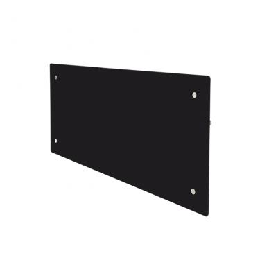 GLAMOX Heating H60 DT konvekcinis elektrinis radiatorius juodas