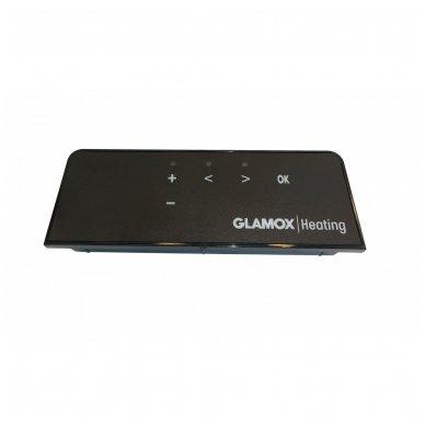 GLAMOX Heating H60 DT konvekcinis elektrinis radiatorius juodas 2