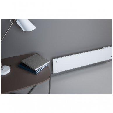GLAMOX Heating H60 L DT konvekcinis elektrinis radiatorius baltas 3