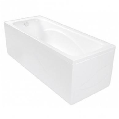 KLIO akrilinė vonia 120x70 su kojelėm, balta