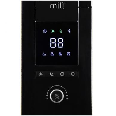 Mill Glass AB-H1000DN tepalinis radiatorius/šildytuvas 3