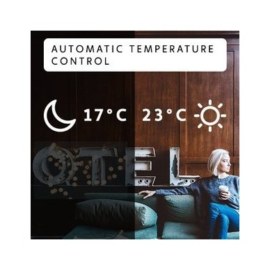 Mill Glass AV1200WIFI elektrinis radiatorius/šildytuvas 5