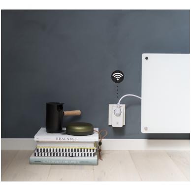 Mill WIFI lizdas su integruotu termostatu 2