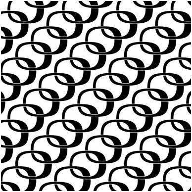 MIMO dušo užuolaida tekstilinė, atstumianti vandenį, antimikrobinė, nesiglamžanti, skalbiama 60 laipsn temp., balta su juoda