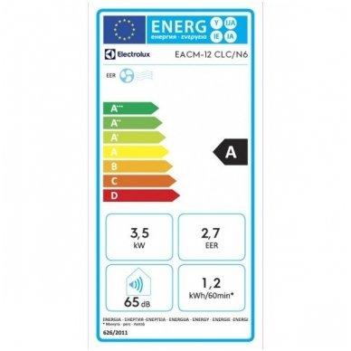 Electrolux EACM-12 CLC/ N6 mobilus oro kondicionierius  4