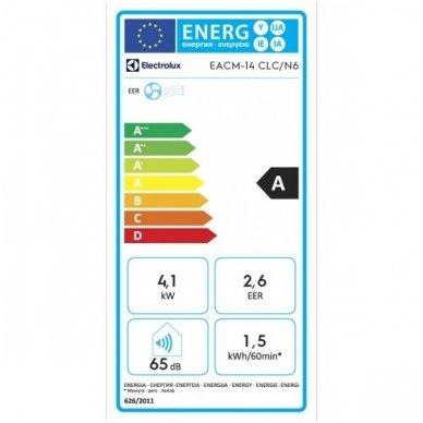 Electrolux EACM-14 CLC/N6 mobilus oro kondicionierius 4