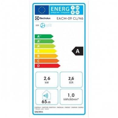 Electrolux EACM-9 CL/ N6 mobilus oro kondicionierius 2