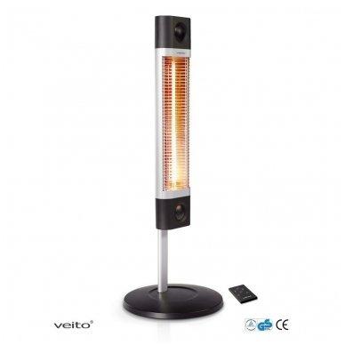 VEITO CH1800 RE 1700W - anglies pluošto infraraudonųjų spindulių šildytuvas