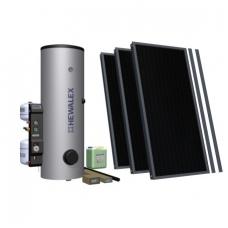 Plokščiųjų saulės kolektorių komplektas Hewalex 300 (934235)