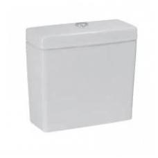 PRO unitazo bakelis, Dual flush, vandens įvadas apačioje, baltas