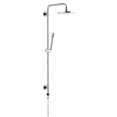 Rainshower System dušo sistema Click L-900 (stacionari galva Ø210, alkūnė 450mm, rankinis dušas)
