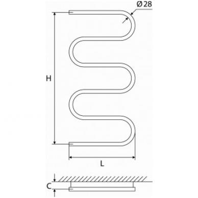Rankšluosčių džiovintuvas ELONIKA EN 1050 S 2