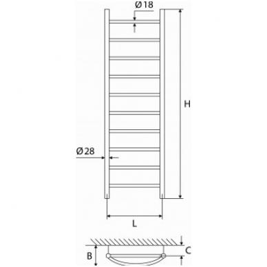 Rankšluosčių džiovintuvas ELONIKA EŽ 1035 K/KL 2