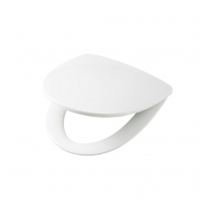 SIGN kietas unitazo dangtis lengvai nuimamas arba fiksuotas, baltas