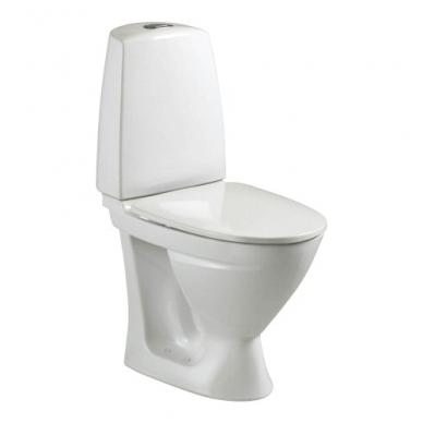 SIGN kombinuotas unitazas, horizontalus, 2/4 ltr. Fresh WC funkcija