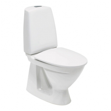 SIGN kombinuotas unitazas, vertikalus, 2/4 ltr. Fresh WC funkcija