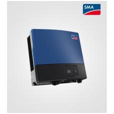 Sunny Tripower 25000 TL (25,0kW) be grafinio ekrano