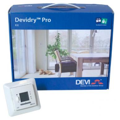 Termostatas DEVI Devidry Pro Kit-55 (potinkinis)