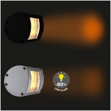 TROTEC IR 2050 halogeninis infraraudonųjų spindulių šildytuvas 5