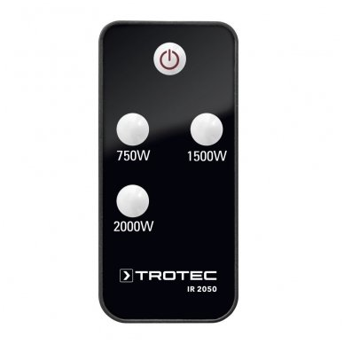 TROTEC IR 2050 halogeninis infraraudonųjų spindulių šildytuvas 3