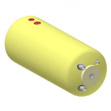 Vandens šildytuvas NIBE-BIAWAR W-E100.24 B 100L horizontalus, be teno
