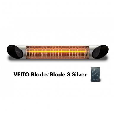 VEITO BLADE S 2500W - anglies pluošto infraraudonųjų spindulių šildytuvas