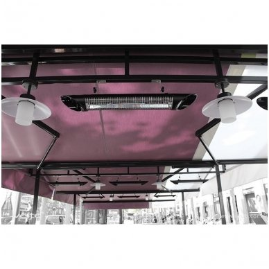 VEITO BLADE S 2500W - anglies pluošto infraraudonųjų spindulių šildytuvas 4