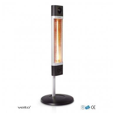 VEITO CH1800 XE 1700W - anglies pluošto infraraudonųjų spindulių šildytuvas 2